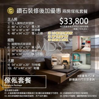 2 Room Furniture Package (VIP Limit)